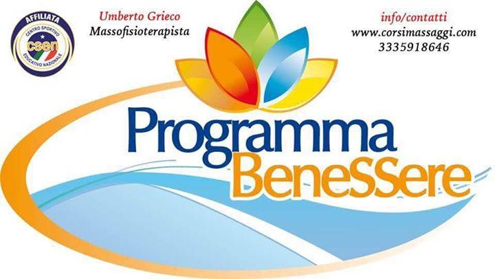 Programma Benessere di Umberto Grieco ha …