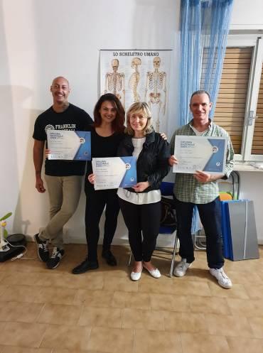 #Operatore Massaggio Sportivo….traguardo raggiunto da: Vincenzina Proietto; Vi…